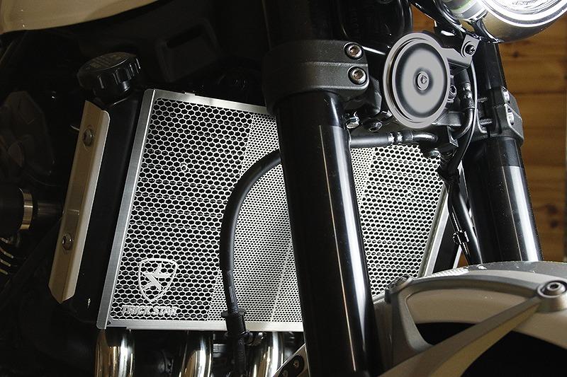 トリックスター VHG-031-SV ラジエターコアガード カワサキ Z900RS ステンレスシルバー ラジエターガード