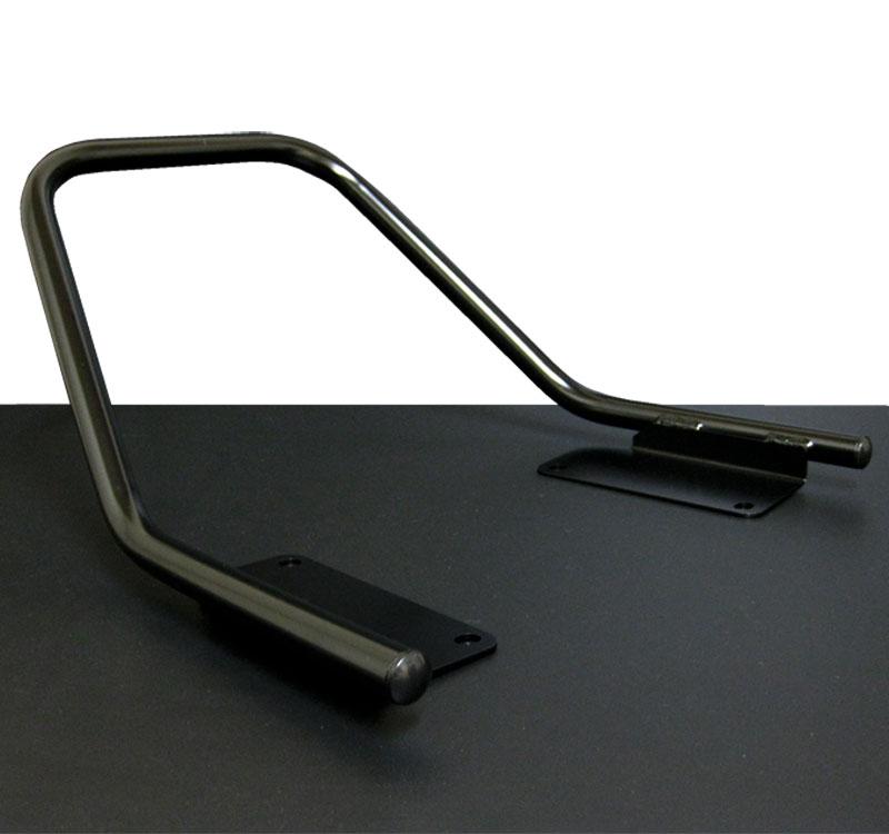 ZRX400/2 (94-08) タンデムバー グラブバー タンデムグリップ ブラック バーテックス