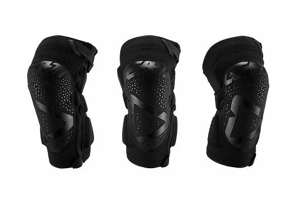 LEATT リアット 5019400500 19~'20 3DF 5.0 ZIP ジップ ニーガード ブラック S/Mサイズ 左右セット 膝プロテクター モトクロス WESTWOOD ウエストウッド