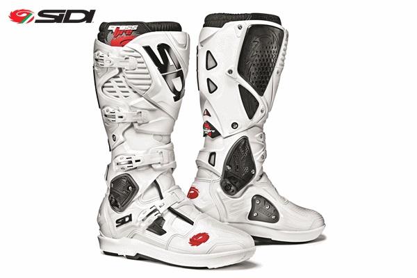 SIDI シディー CROSSFIRE3 SRS 交換式SRSソールモデル ブーツ ホワイト/ホワイト 9/43サイズ 26.5cm-27.0cm WESTWOOD ウエストウッド