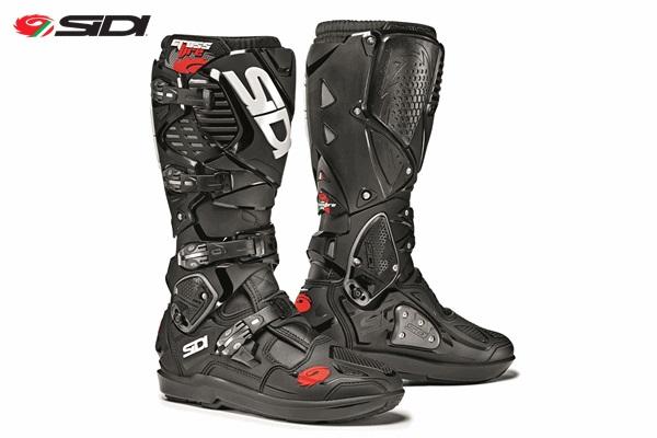 SIDI シディー CROSSFIRE3 SRS 交換式SRSソールモデル ブーツ ブラック/ブラック 9/43サイズ 26.5cm-27.0cm WESTWOOD ウエストウッド