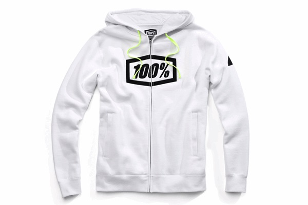 100% 100パーセント 36017-000-10 SYNDICAT パーカー ホワイト Sサイズ WESTWOOD ウエストウッド