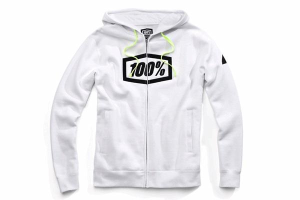 100% 100パーセント 36017-000-12 SYNDICAT パーカー ホワイト Lサイズ WESTWOOD ウエストウッド