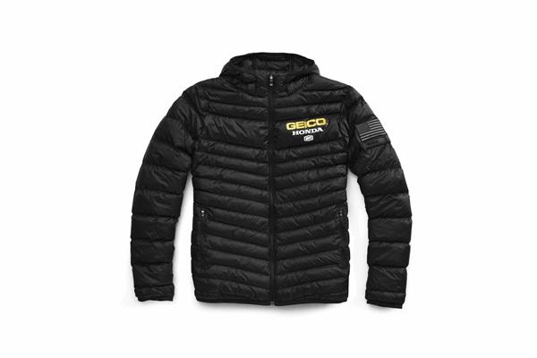 100% 100パーセント 39905-001-12 GEICO/HONDA DELTA1 ジャケット オフロード ブラック Lサイズ WESTWOOD ウエストウッド