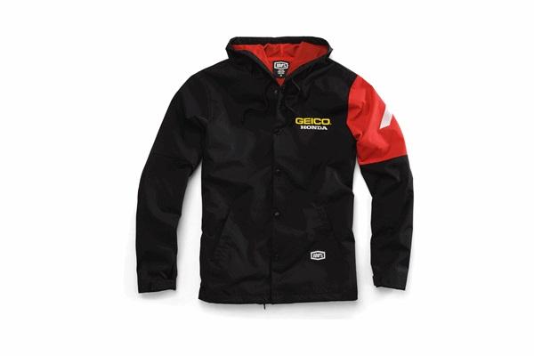 100% 100パーセント 39900-001-11 GEICO/HONDA FLUX ジャケット オフロード ブラック Mサイズ WESTWOOD ウエストウッド