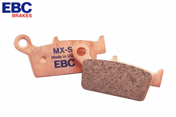 EBC イービーシー MXS367 シンタードメタルパッド ブレーキパッド モトクロス エンデューロ モタード リア YZ125/YZ250F/YZ450F/WR250R WESTWOOD ウエストウッド