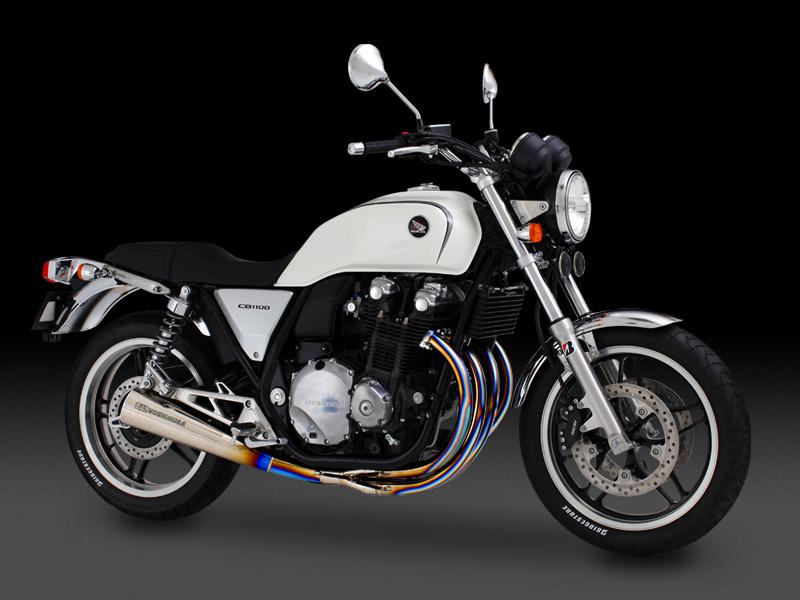 ヨシムラ 110-410-8380 手曲チタンサイクロン RSC-DRAG マフラー TT チタンカバー CB1100