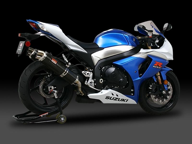 ヨシムラ 110-518-8480 スリップオン TRI-OVAL チタンサイクロン 2エンド マフラー TT チタンカバー GSX-R1000