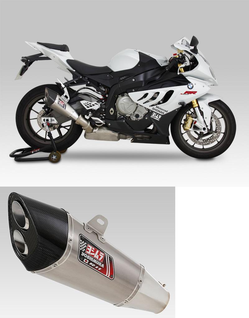 ヨシムラ 110-635-5580 スリップオン R-11 サイクロン 2エンド EXPORT SPEC マフラー ST チタンカバー S1000RR