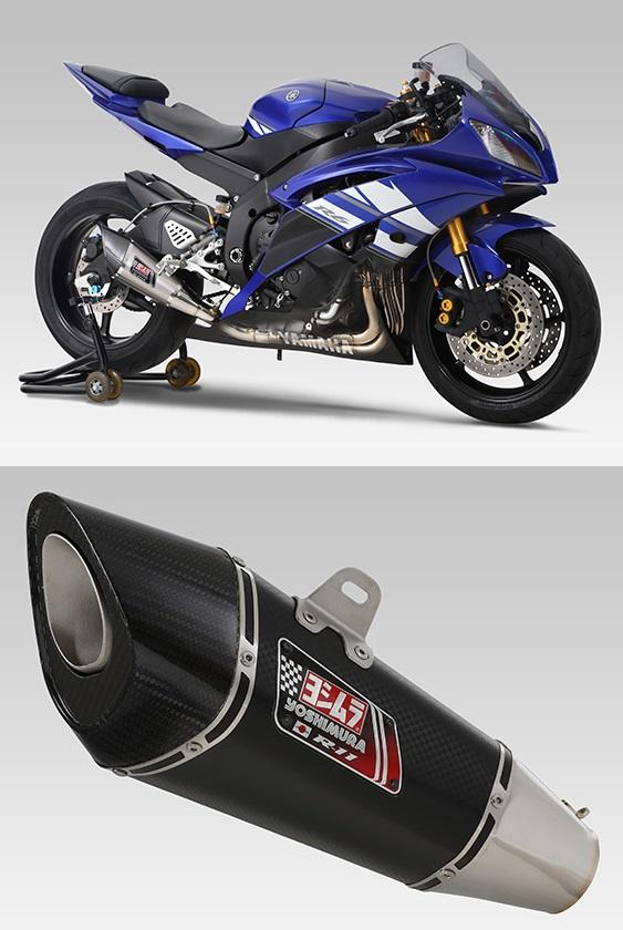 ヨシムラ 150-359-5F20 R-11 レーシングサイクロン NEO HYBRID マフラー SM メタルマジックカバー YZF-R6