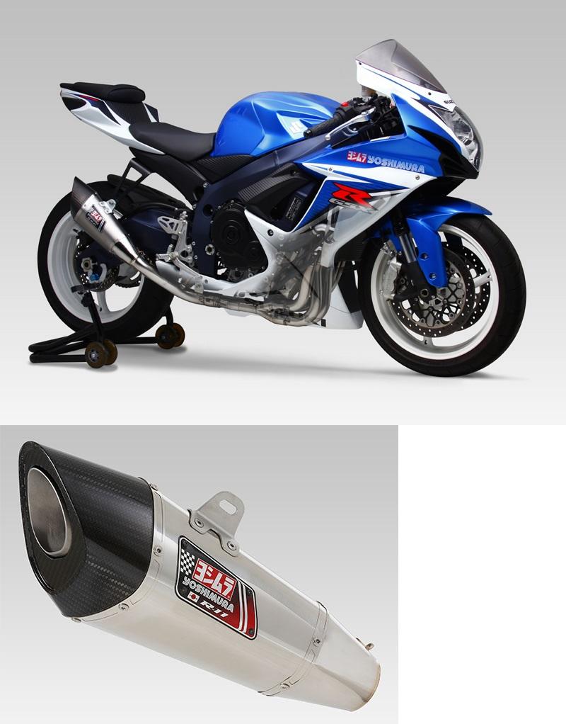 ヨシムラ 150-571-5F50 R-11 レーシングサイクロン 1エンド ステンレスエキパイ マフラー SS ステンレスカバー GSX-R600