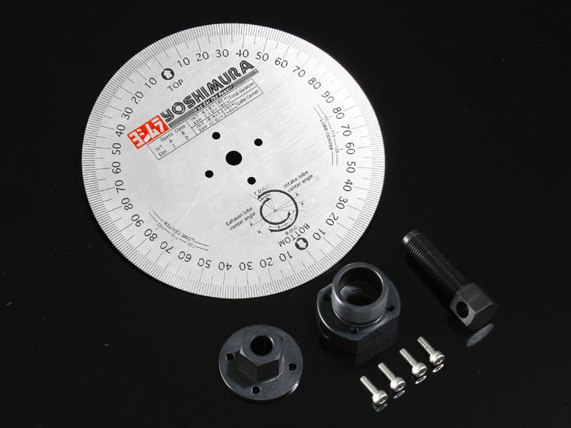 ヨシムラ 258-406-1000 タイミングホイールブラケット&ロータリーリムーバーセット タイミングホイール付 エイプ50/ エイプ100/モンキー/NSF100/XR50モタード/XR100モタード