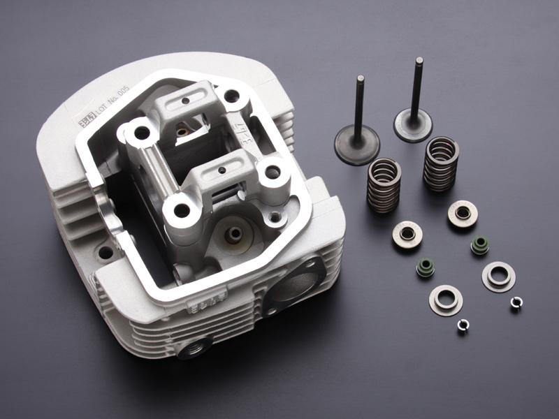 ヨシムラ 260D406-10A0 ヨシムラヘッドASSY タイプR 125cc/115cc 未組立仕様 エイプ50/ エイプ100/NSF100/XR50モタード/XR100モタード