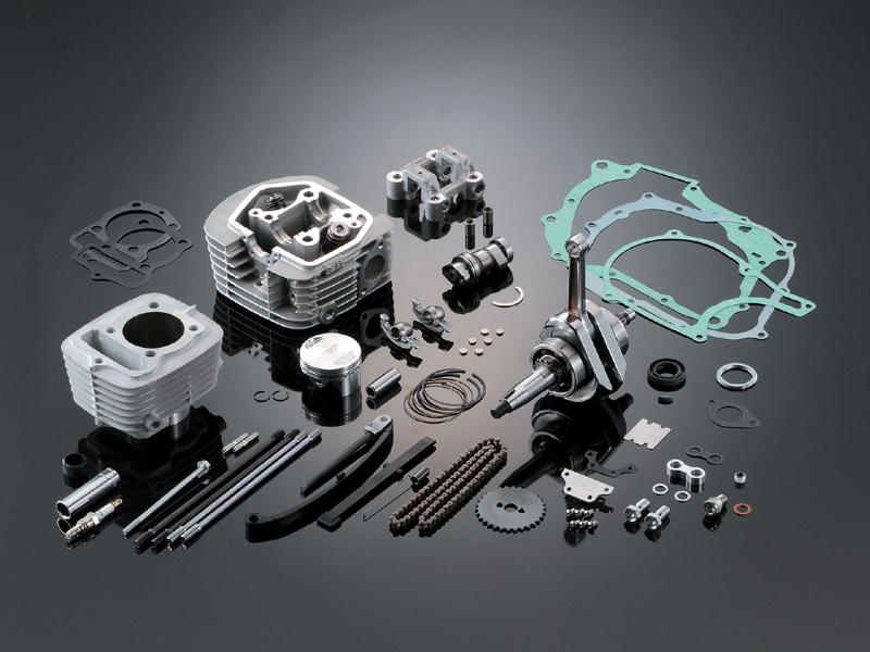 ヨシムラ 268-405-2500 50cc用ヨシムラヘッド 125ccキット エイプ50/XR50モタード