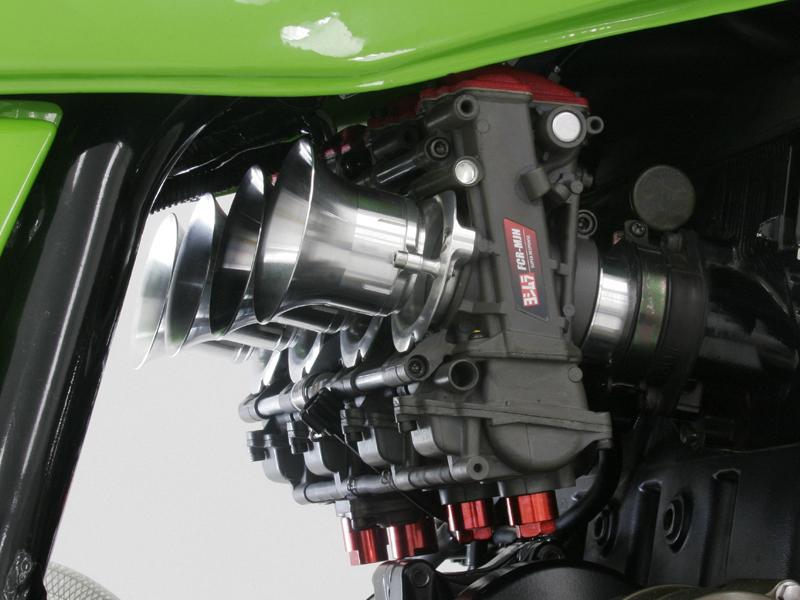 ヨシムラ 749-299-2501 ヨシムラKEIHIN FCR-MJN39キャブレター パワーフィルター仕様 シルバーボディ ZRX1100/ZRX1200