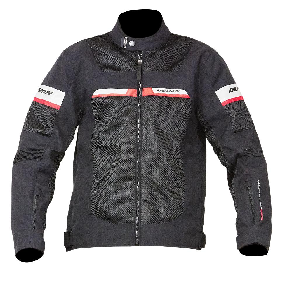モーターサイクル  ジャケット バイクパーツセンターDUHAN バイク DUHAN  ジャケット オールシーズン  送料無料  XLサイズ ドゥーハン ブラック