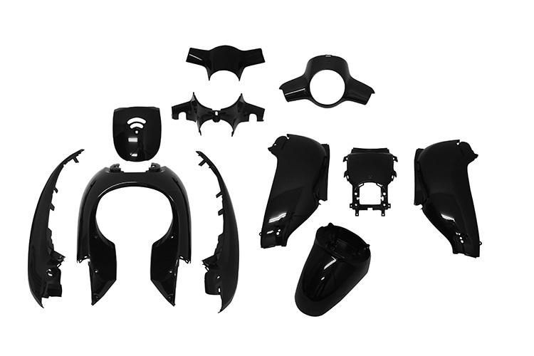 ホンダ ジョルノ AF70 外装11点セット 黒 バイクパーツセンター