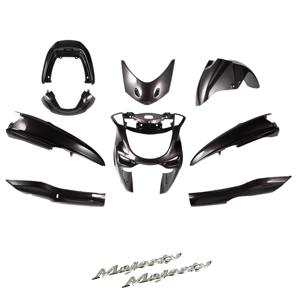 ヤマハ マジェスティ250/C  SG03J  エンブレム付 外装セット 9点 茶 外装セット  バイクパーツセンター