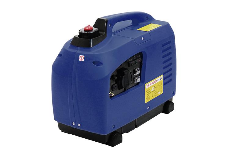 発電機 SF-1000F 青 ブルー 900W DIY 災害時の電力供給源 携帯発電機 インバーター式、正弦波  災害時の電力確保に最適  小型発電機  バイクパーツセンター