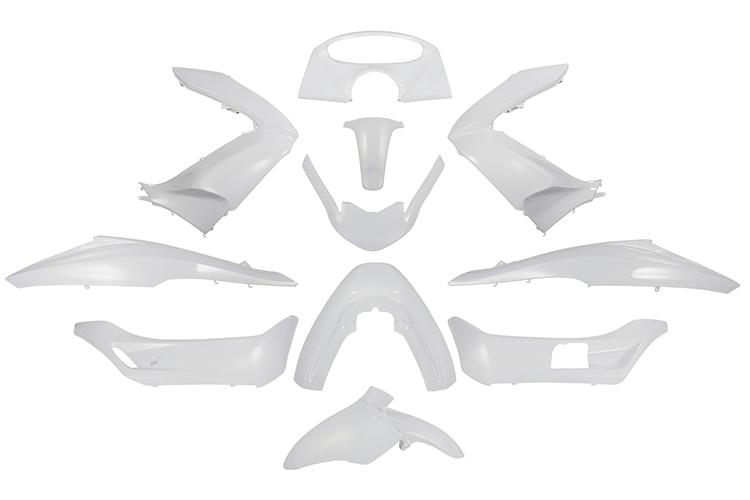 ホンダ純正 PCX JF28/KF12 外装カウル11点セット 白 pcx  ホワイト  塗装済  外装セット  バイクパーツセンター