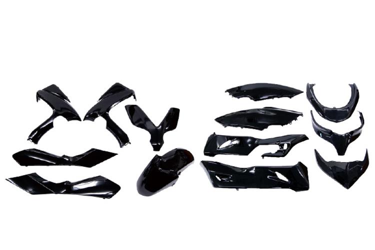 純正タイプ ホンダ フォルツァ MF10 外装カウルセット 13点 黒 ブラック  塗装済  外装セット  バイクパーツセンター
