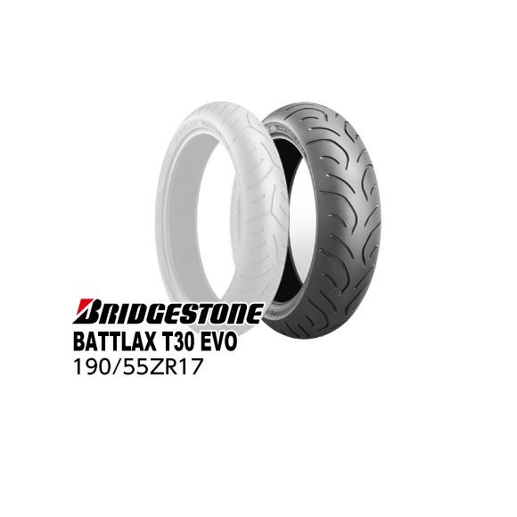 STREETブリヂストン・バトラックス C レーシング アールエステンリア用・商品番号MCR05231 ストリート TLBATTLAX RACING BRIDGESTONE RS10 190/55ZR17 M/ (75W)