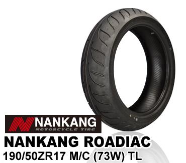 【ナンカン】ローディアック WF-1 190/50 ZR 17 NANKANG ROADIAC リアタイヤ バイクパーツセンター