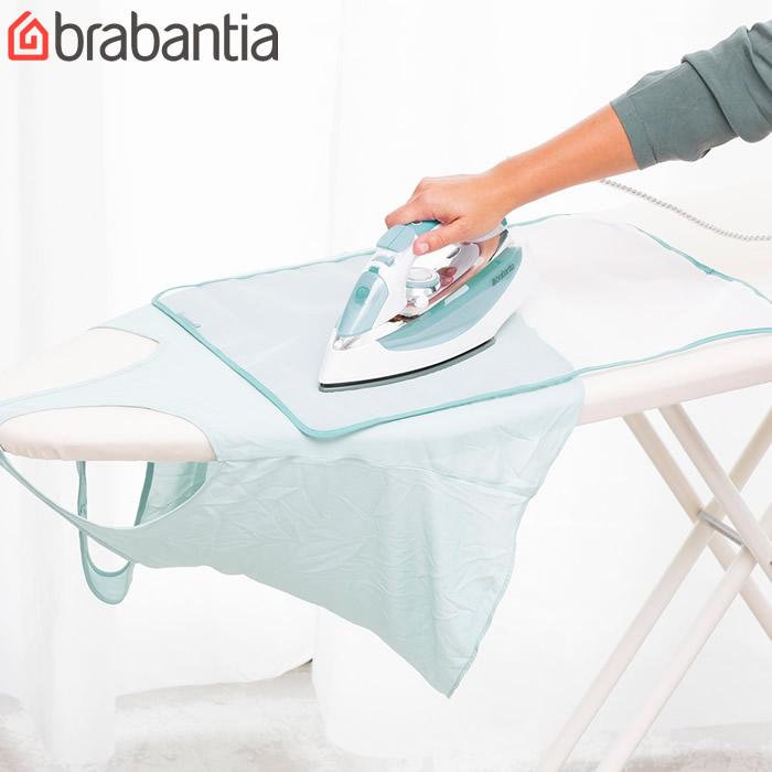 繊細な衣類のアイロンがけに アイロンがけの際アイロンによる衣類のてかりを防ぎます シルクやナイロンのように繊細な衣類のアイロンがけに最適 brabantia ゆうパケット対応 ブラバンシア プロテクティブ アイロンクロス クロス 洗濯用品 ホワイト 本物 アイロン アイロン用当て布 ~アイロンがけ保護クロス~ アイロンがけ 最新アイテム