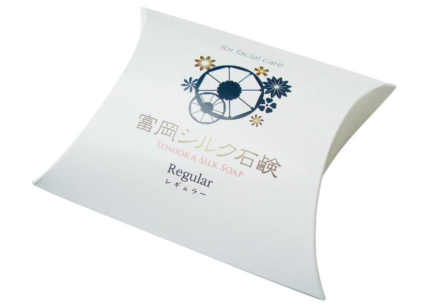 富岡製糸場の名物石鹸です 内祝い 絹工房 超激得SALE 富岡シルク石鹸 80g レギュラーサイズ