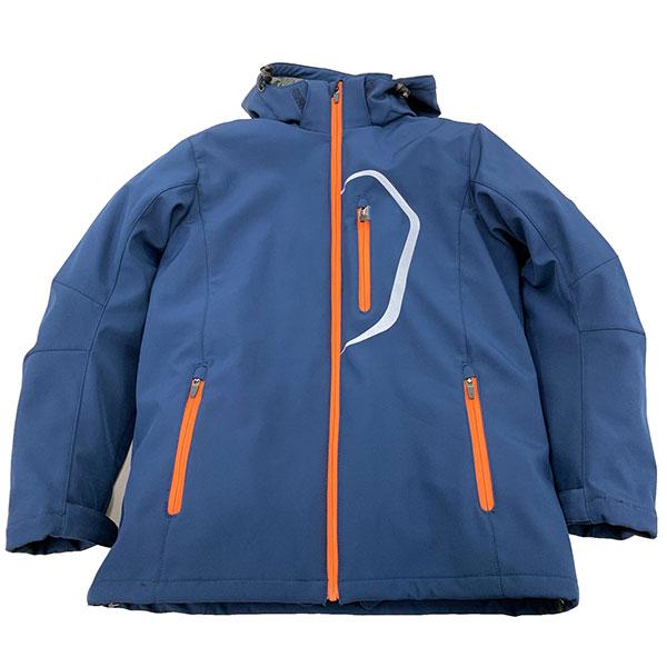クレバーオム COJ-1104 ウインタージャケット ネイビー/オレンジ