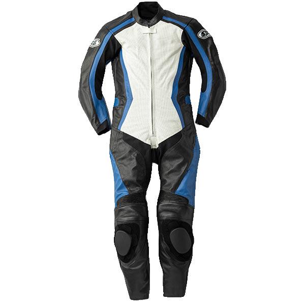 圧倒的コストパフォーマンス スピードオブサウンド メーカー直送 日本未発売 SOS-18 レザースーツ ホワイト ブルー