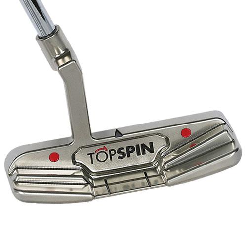 ゴルフパター/TOPSPIN BLADE5/曲面パター(ジェームズ・ミラーのTOPSPINパター)Curved FACE,トップスピン TOPSPIN Putter ゴルフクラブ/直進性,方向性,距離感が完璧です。