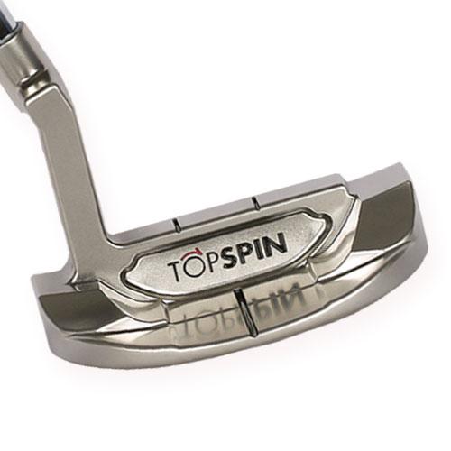 ゴルフパター/TOPSPIN MALLET2/曲面パター(ジェームズ・ミラーのTOPSPINパター)Curved FACE,トップスピン TOPSPIN Putter ゴルフクラブ/直進性,方向性,距離感が完璧です。
