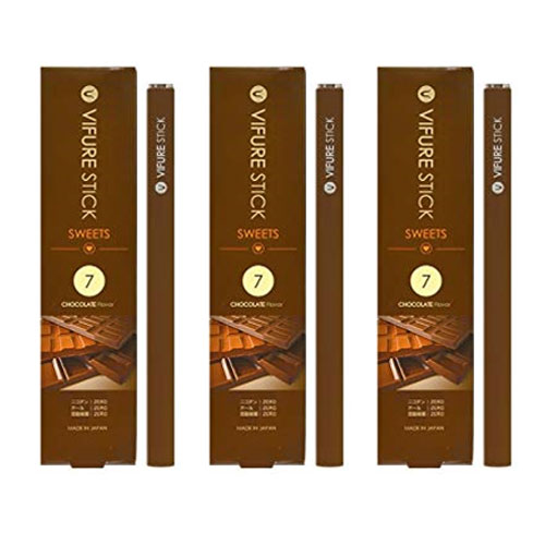 VIFURE STICK、ビフレスティック【チョコレートフレーバー3本セット 】 送料無料 !すっきり美味しいブラックティーのフレーバー
