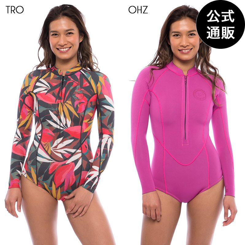 【OUTLET】【送料無料】2019 ビラボン レディース【SURF CAPSULE】SALTY DAYZ LS SPRING ロングスリーブスプリング/2mm【2019年秋冬モデル】 全2色 M/L BILLABONG
