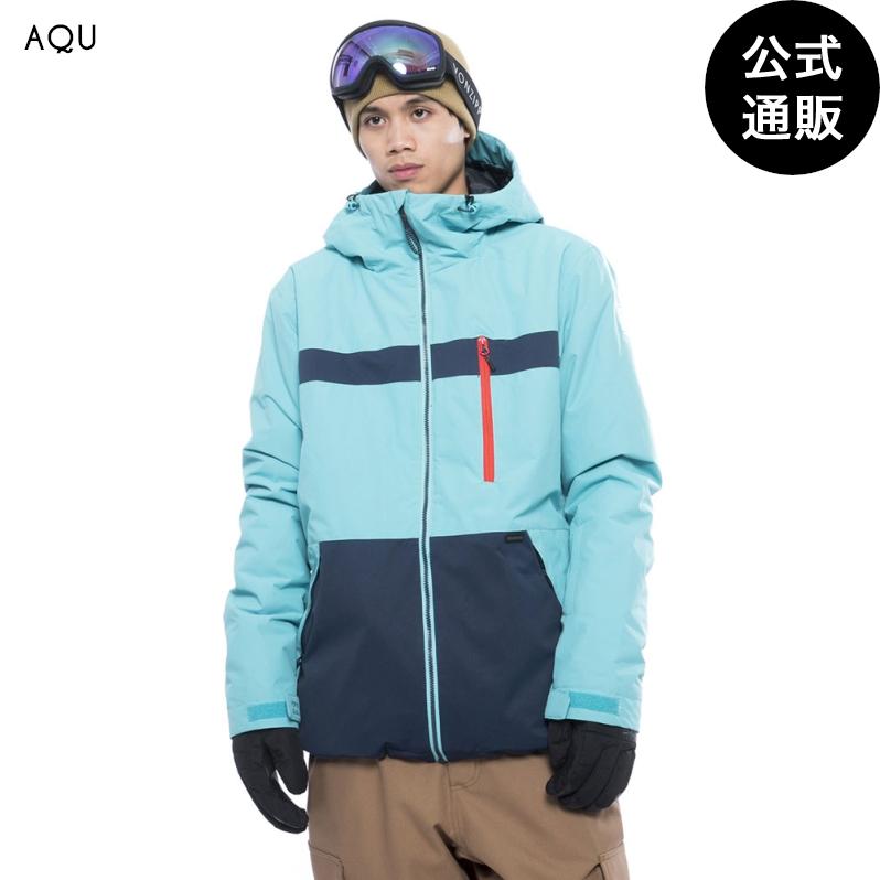 【OUTLET】【送料無料】2019 ビラボン メンズ ALL DAY スノージャケット AQU【2019年冬モデル】 全1色 S/M/L BILLABONG