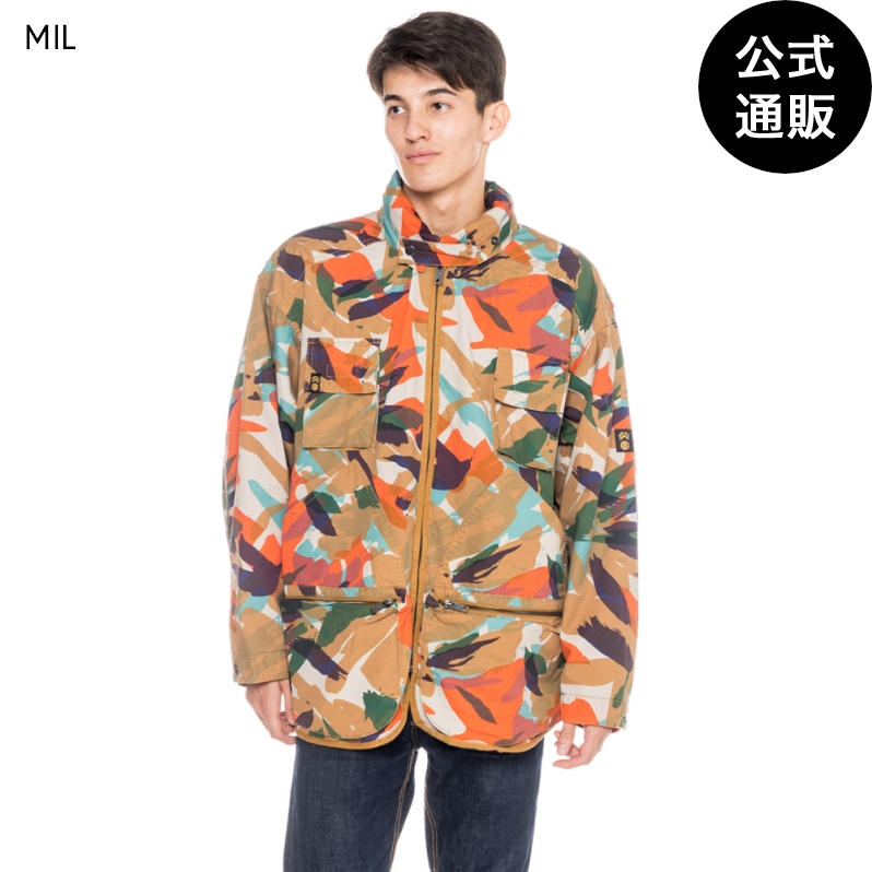 【OUTLET】【送料無料】2019 エレメント メンズ 【NIGEL CABOURN】 THE ALDER HUNTING PARKA ミリタリージャケット 全1色 XS/S/M/L/XL ELEMENT