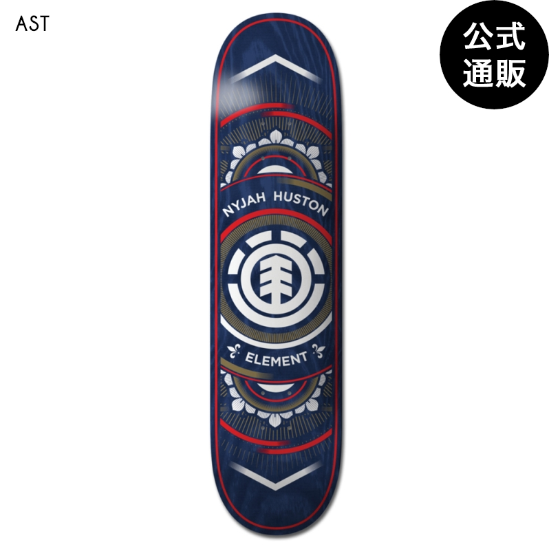 【送料無料】ELEMENT スケートボード NYJAH SAINT デッキ 7.25
