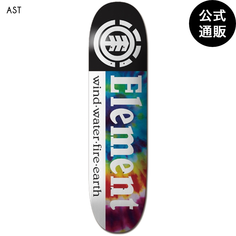 2020 エレメント スケートボード TYE DYE SECTION デッキ 7.75 全1色 7.75 ELEMENT