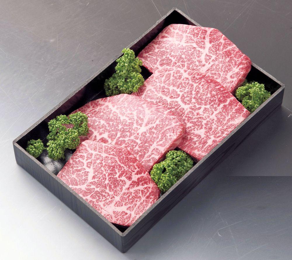 米沢牛 ランプステーキ 結婚祝い A5又はA4ランク 信託 150gX4枚