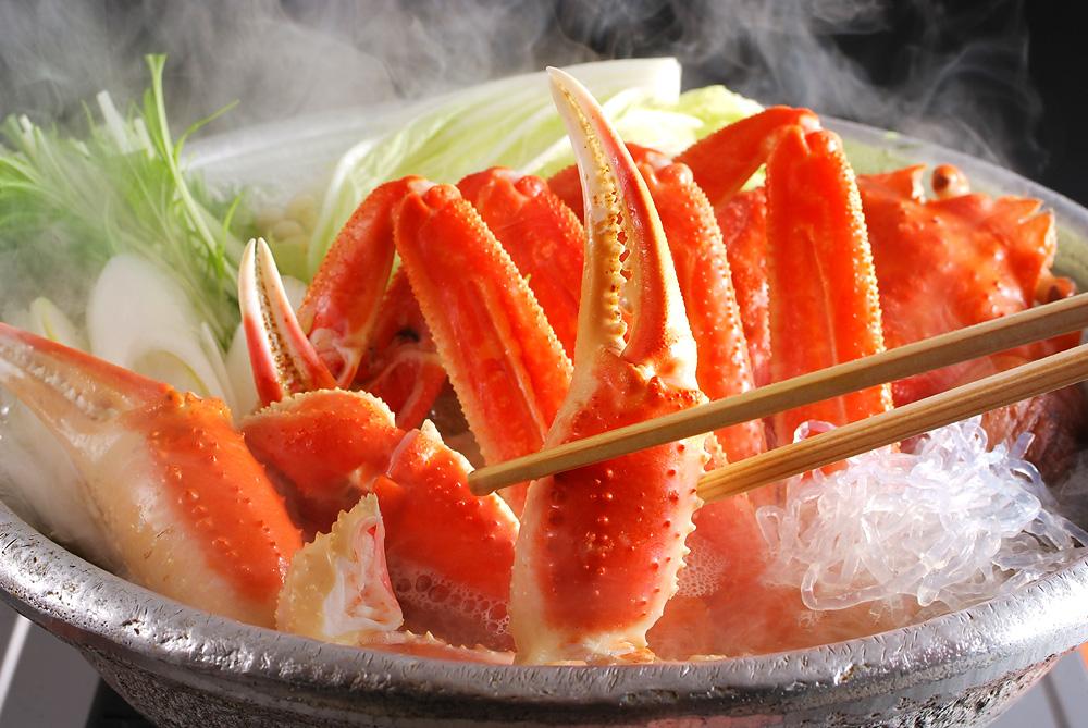 京の名工!「蟹すきセット」「ズワイガニ」(冷凍)(調理前1200g、調理後800g)(「極み出汁」、「こしひかり(丹波産)」と「京野菜」がついています)