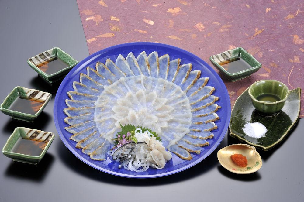 食楽庵ふる川「ふぐ刺三種盛り(4人前)」(送料込)