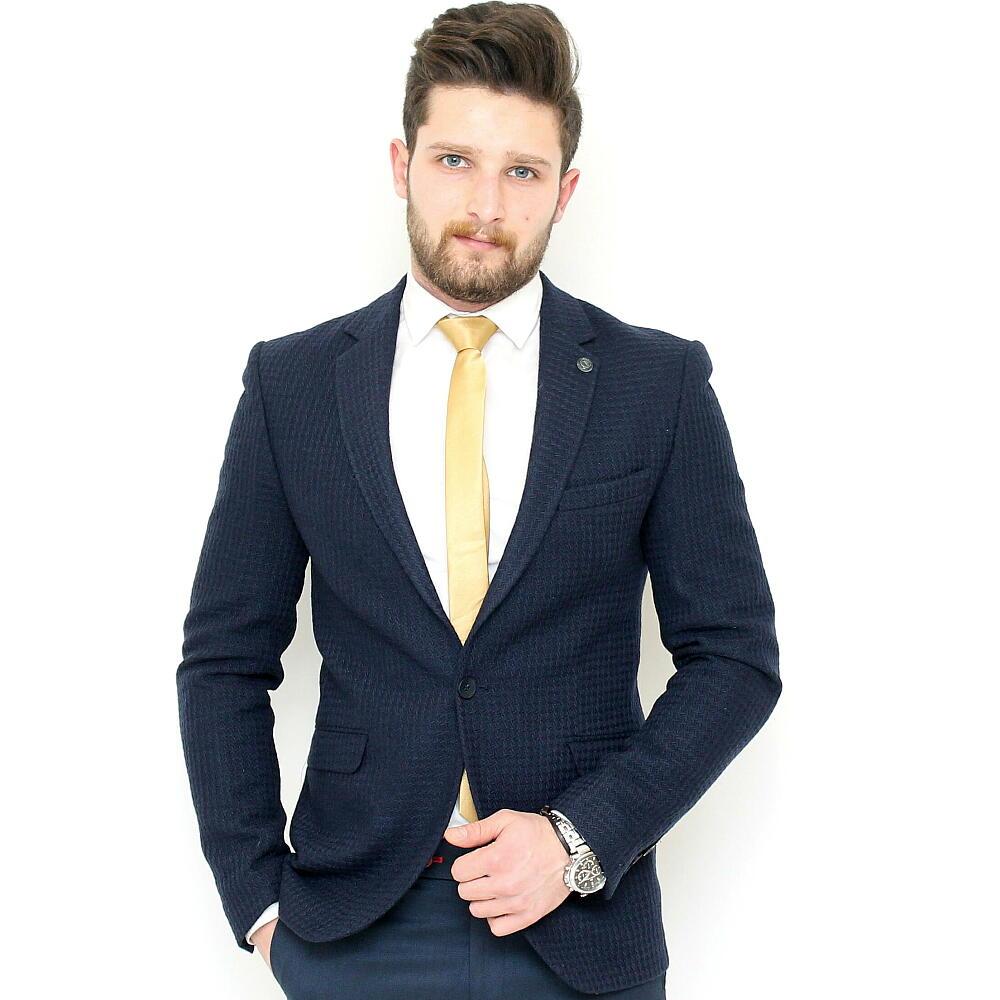 テーラードジャケット ブレザー メンズ ビジネス ジャケパン 一つボタン 細身 タイト シルエット 背抜き 春秋冬