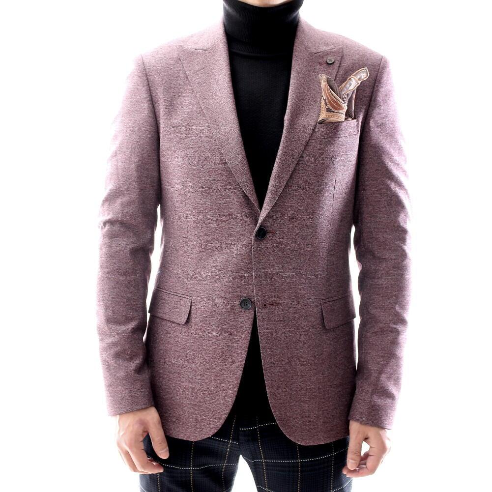 テーラードジャケット ブレザー メンズ エンジ タイト/スリムフィット ジャケパン 秋/冬/春 大きいサイズも入荷 ビジネスジャケット
