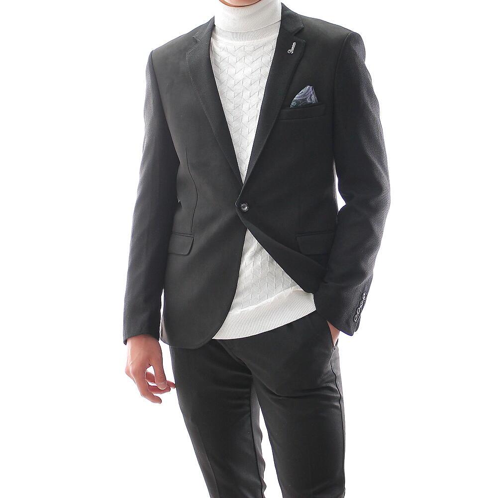 テーラードジャケット ブレザー メンズ 黒 XXXLまで 大きいサイズも入荷 カジュアル ジャケット 秋冬春