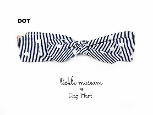Rag Mart rag mart ベビー ギフト RAG ラグマート museum ヘアバンド:フリー:1693933 本物 MART ティックルミュージアム tickle 大特価!!