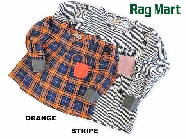 期間限定特別価格 Rag Mart rag mart ラグマート プリントブラウス:80cm MART 低廉 RAG 90cm:1113041 2021秋冬