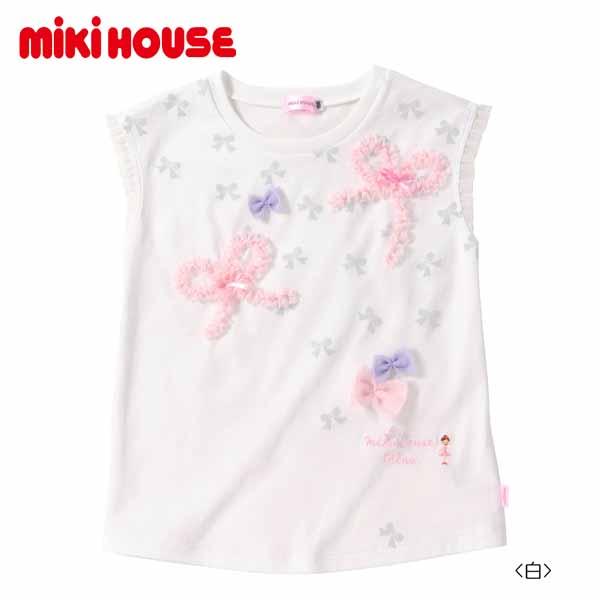 Mikihouse mikihouse ギフト 女の子 お買い得品 ミキハウス Tシャツ:150cm:12-5222-976 売り尽くし☆MIKIHOUSE 爆買いセール