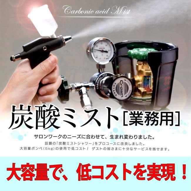 炭酸ミスト 「業務用」(ボンベ別売)