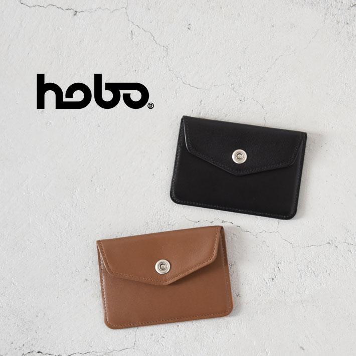 【最大34倍】【SALE 40%OFF】hobo(ホーボー)/Cow Leather Card Case カウレザーカードケースメンズ/hobo カードケース/hobo 財布/hobo 通販【ネコポス1点まで可能】【交換・返品不可】
